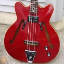 Fender Coronado Bass I 1960s Candy Apple Red image