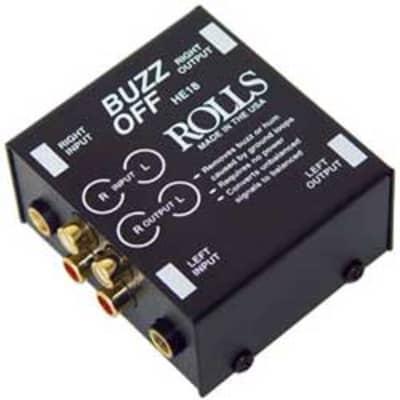 Rolls HE18 2-Channel Hum Eliminator