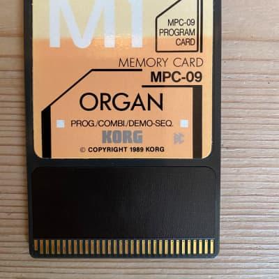 Korg MPC-09 Organ memory card for M1 /M1R