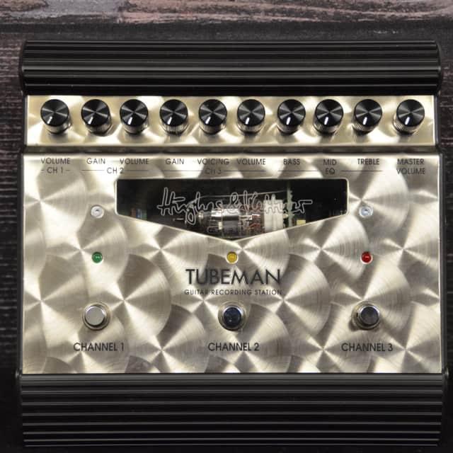 Hughes and Kettner Tubeman 3-Channel Overdrive Guitar Pedal image