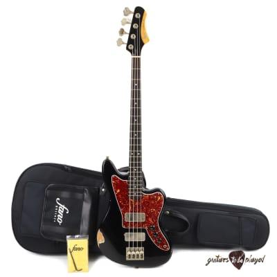 Fano JM4 Standard Bass RW Fingerboard w/ Gigbag - Bull Black (Medium Distress) for sale