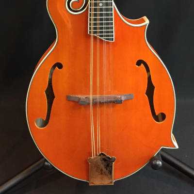 Rover RM-75 Deluxe F-Style Mandolin Transparent Amber for sale