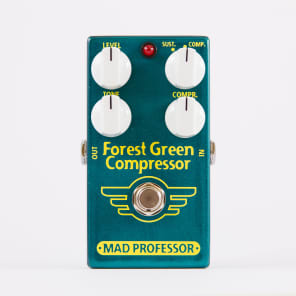 Mad Professor Forest Green Compressor Guitar Pedal for sale