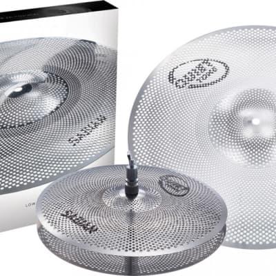Sabian Quiet Tone Practice Cymbals Pack 13/18