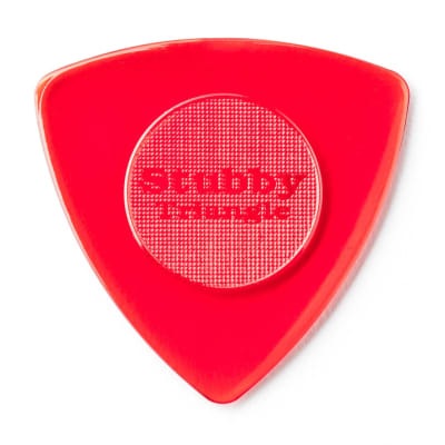 Dunlop 473R15 Tri Stubby 1.5mm Triangle Guitar Picks (24-Pack)