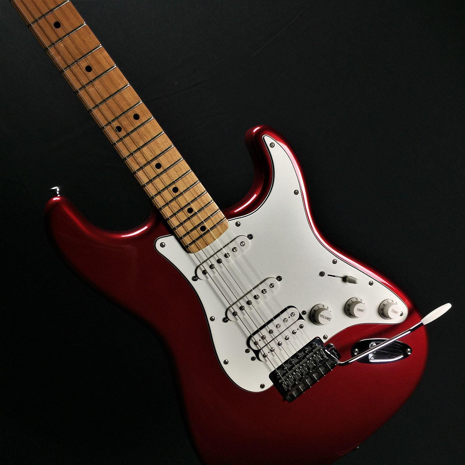 d5502f92db6 Fender Standard Stratocaster- MIM 2015- Candy Apple Red- Hard ...