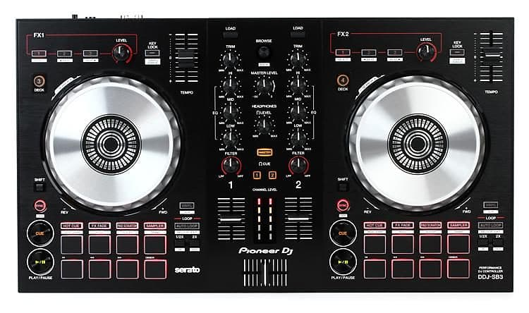Pioneer DDJ-SB3 Serato DJ Controller with Pad Scratch | Reverb
