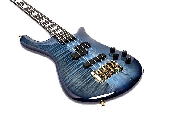 Spector Euro 4 LT, Blue Fade Gloss w/ Ebony ***Pre-order, ETA = JUNE***NOT Pre-Owned