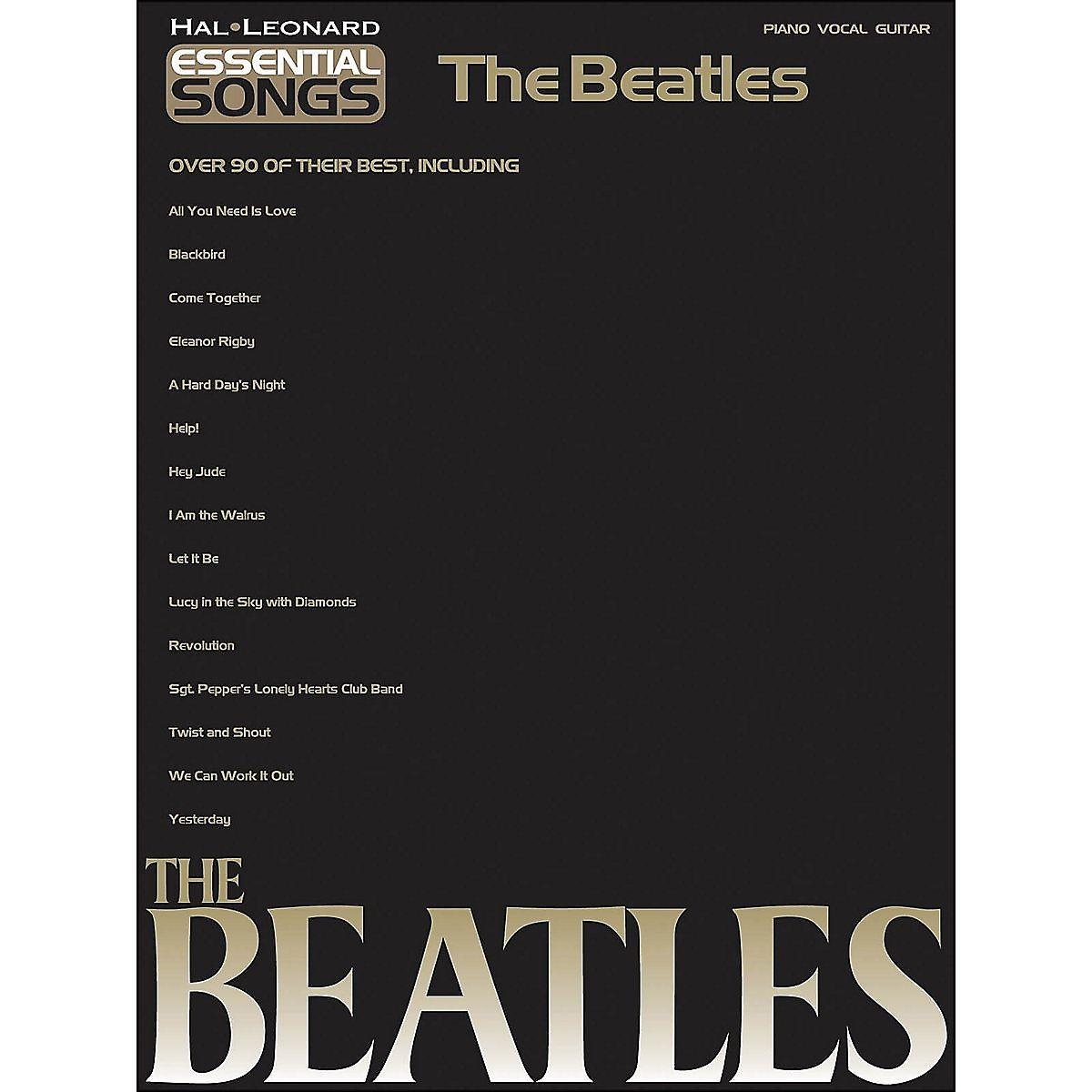 Hal Leonard Essential Songs The Beatles Reverb