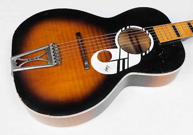 catalina by harmony l32 vintage acoustic parlor guitar as is reverb. Black Bedroom Furniture Sets. Home Design Ideas