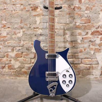 Rickenbacker 620/12 Midnight Blue 1983