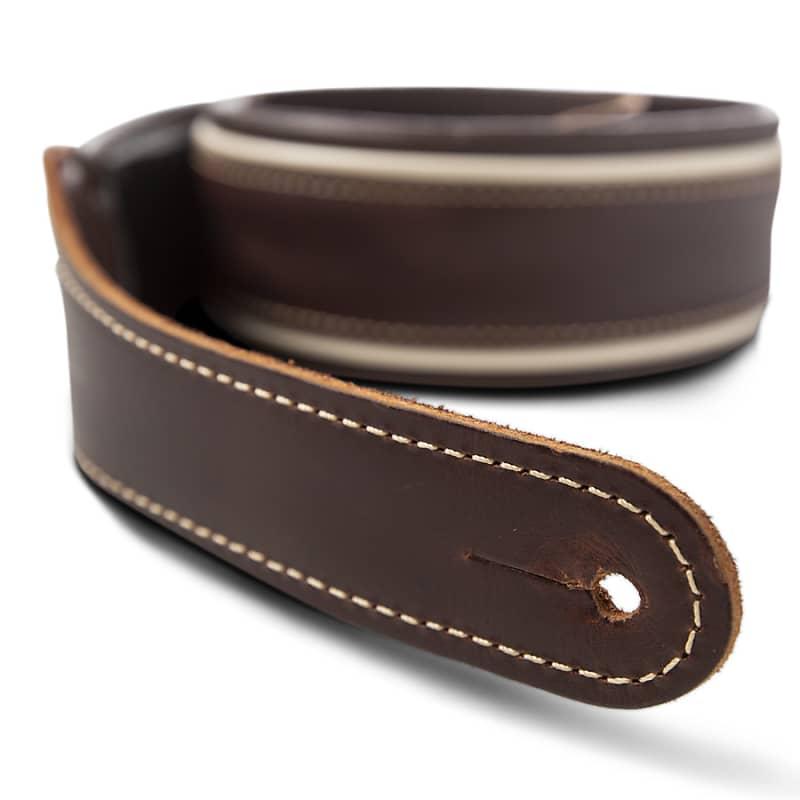 Taylor Century Strap (500 Series), Cordovan/Cream/Cordovan Leather, 2.5