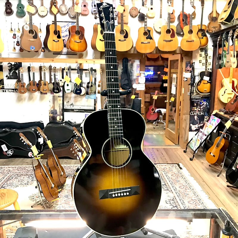 gibson l 1 1990 sunburst with original hardshell case reverb. Black Bedroom Furniture Sets. Home Design Ideas