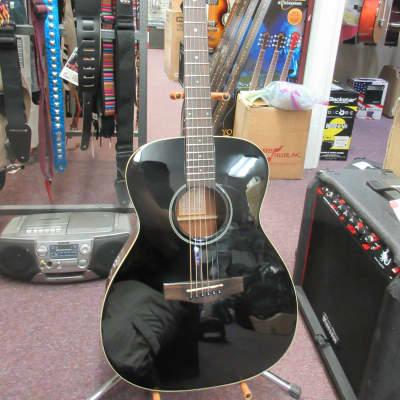 Voyage Air VAOM-04BK Travel Acoustic Guitar Used for sale