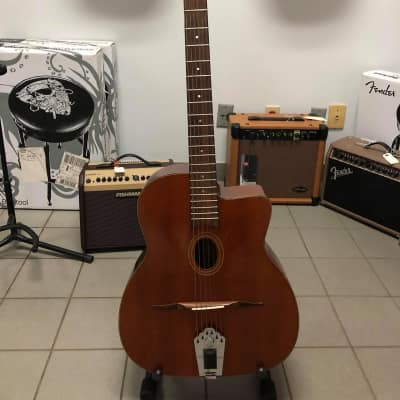 Saga DG200 Electric Django Jazz Guitar 1980s MANOUCHE for sale