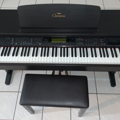 Yamaha  Clavinova and Bench CVP-92 Brown Digital Piano