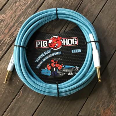 """PIG HOG """"Daphne Blue"""" Instrument Cable,20ft"""