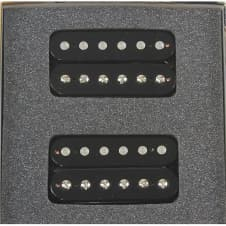 Bare Knuckle Pickups 6 String Miracle Man Humbucker  Black