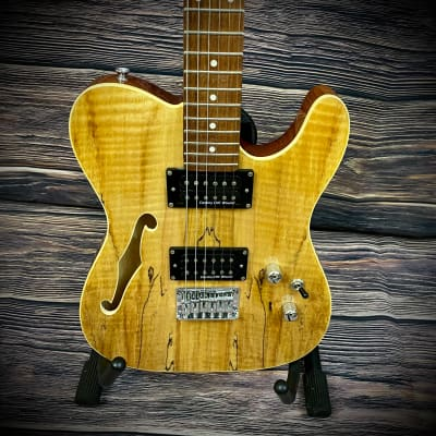 IVY 6 String Solid-Body Electric Guitar, Right, natural (ITF-300 NA)