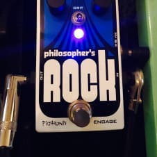 Pigtronix Philosopher's Rock Compressor Pedal w/ Germanium Overdrive
