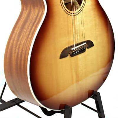 Alvarez Artist Series Baritone Acoustic / Electric Guitar; ABT610E, Sunburst with Alvarez Padded Gig