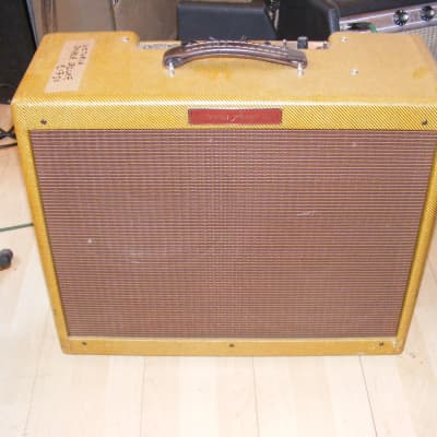 Victoria Double Deluxe Tweed amp like vintage Fender Deluxe but twice as powerful for sale