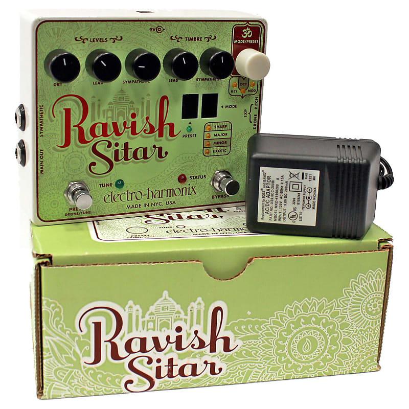 electro harmonix ravish sitar guitar effects pedal sitar reverb. Black Bedroom Furniture Sets. Home Design Ideas