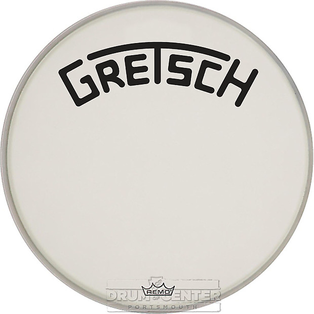 gretsch bass drum head coated 26 with broadkaster logo reverb. Black Bedroom Furniture Sets. Home Design Ideas