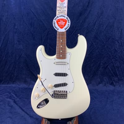 Fender Stratocaster 1992 Left Handed Made in Japan Modified Faded White for sale