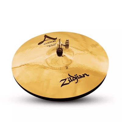 """Zildjian 14"""" A Custom Hi-Hat Cymbals (Pair)"""