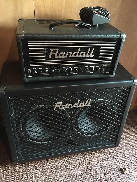 Randall THRASHER50 + matching 2x12 | JOETONE