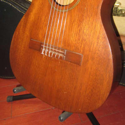 Vintage 1963 Favilla C-5 Overture Classical Nylon String Guitar Made in NYC w/ Case for sale