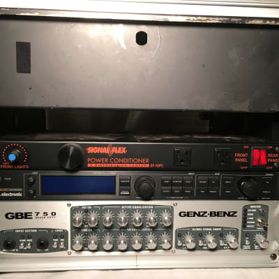Genz Benz GBE 750 Bass rig - Head, 2 cabs plus TC effects in road case - closet queen condition for sale