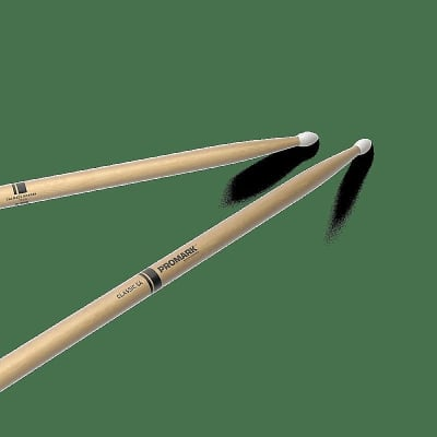 Pro-Mark TX5AN Classic 5A Nylon Tip (Pair) Drum Sticks
