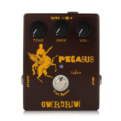 Caline CP-43 Pegasus Overdrive Pedal inspired by Klone