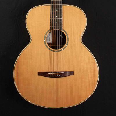 2014 Brad Nickerson Guitars Rasmussen Custom Baritone 1 Acoustic Guitar - With Pickup