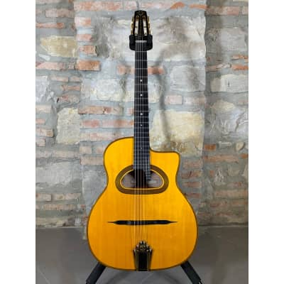 GITANE DG 370 - Model Dorado Schmitt Signature - Professional Gipsy Jazz Guitar - Natural Flame Mapl for sale