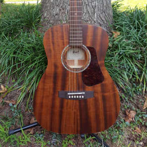 Cort L450CL NS Luce Series Solid Mahogany Concert with Electronics Natural Satin