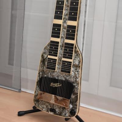 Herrnsdorf two neck Lapsteel – 1960s German Vintage Steel Hawaii Slide Guitar / Gitarre / Gitarre for sale