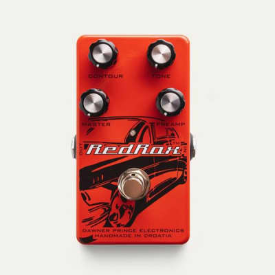 Dawner Prince RED ROX Distortion Guitar Effects Pedal