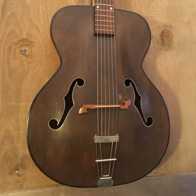 Orpheum King Vintage Archtop Acoustic Guitar Natural Satin c. 1960s for sale