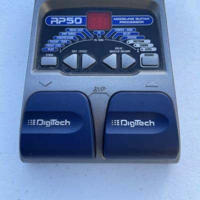 Digitech RP50 Modeling Guitar Multi Effects Processor Guitar Pedal + PSU