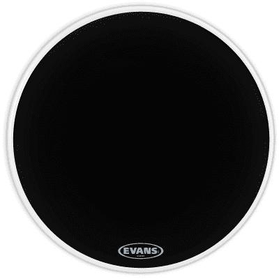"Evans BD22RBG Resonant Black Bass Drum Head - 22"""