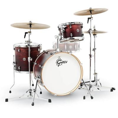 Gretsch Catalina Club 3-Piece Drum Set (20/12/14)- Satin Antique Fade