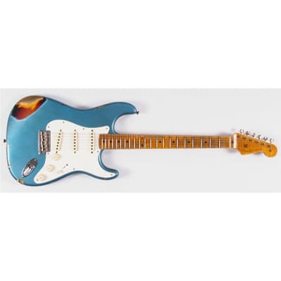 Fender Custom Shop LTD '59 Stratocaster, Heavy Relic, MN, Faded Aged Lake Placid Blue for sale