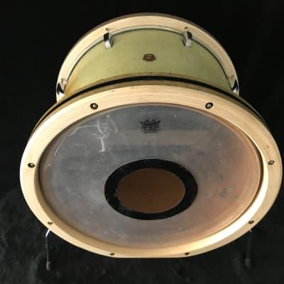 Ludwig 12x17 Bass convert 1958 3ply mahogany shell W/O-rings Silver sparkle