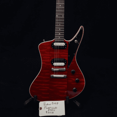 Robin Fleetwood 2008 Cherry Red Flame for sale