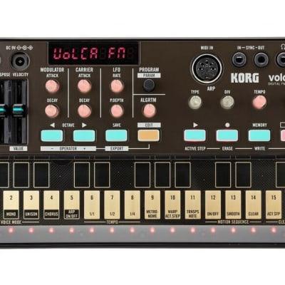 KORG VOLCA FM Brand New w Warranty yamaha dx7 w sequencer ! VINTAGE SYNTH DEALER
