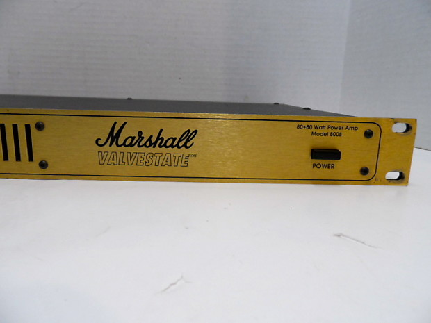 Marshall Valvestate Rack Power Amp Marshall 8008