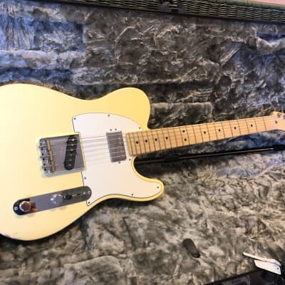 Fender American Performer Fat Telecaster=sounds/plays/looks great*new but finish blemish=TOP PRICE! for sale
